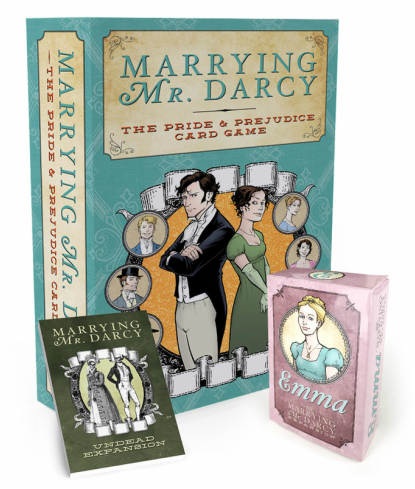 Marrying Mr. Darcy: The Pride and Prejudice Card Game -  Game Salute